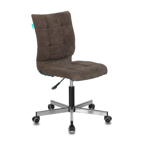Кресло БЮРОКРАТ CH-330M, на колесиках, ткань, темно-коричневый [ch-330m/lt-10]