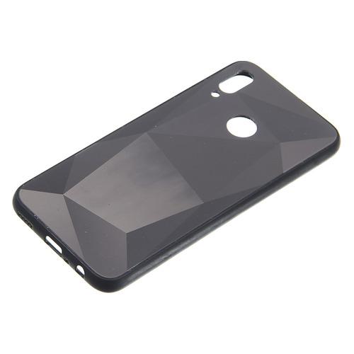 Чехол (клип-кейс) Gresso Даймонд, для Huawei Honor 10 Lite, черный [gr17dmn020] GR17DMN020