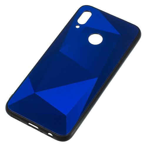 Чехол (клип-кейс) Gresso Даймонд, для Huawei Honor 10 Lite, синий [gr17dmn021] GR17DMN021