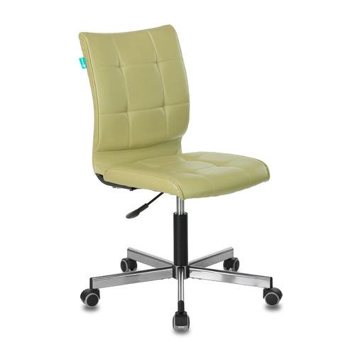 Кресло БЮРОКРАТ CH-330M, на колесиках, искусственная кожа [ch-330m/green] кресло игровое бюрократ ch 776 на колесиках искусственная кожа [ch 776 bl r]