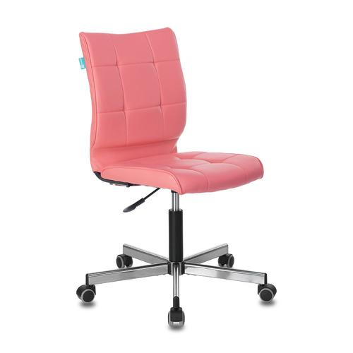 Кресло БЮРОКРАТ CH-330M, на колесиках, искусственная кожа, розовый [ch-330m/pink]