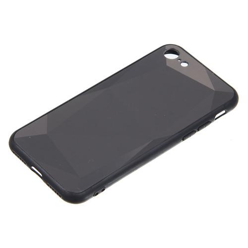 Чехол (клип-кейс) GRESSO Даймонд, для Apple iPhone 7/8, черный [gr17dmn024]