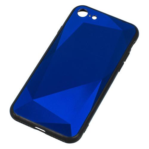 цена на Чехол (клип-кейс) GRESSO Даймонд, для Apple iPhone 7/8, синий [gr17dmn025]