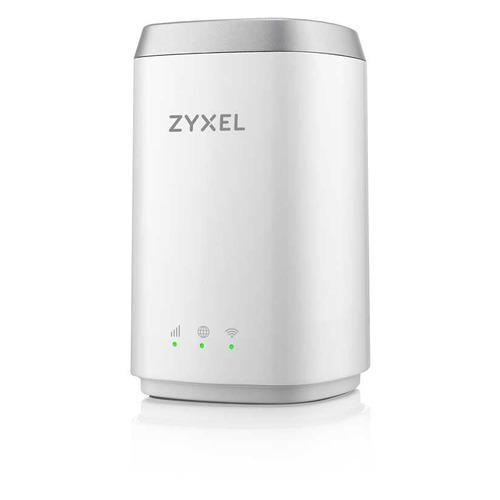 Беспроводной роутер ZYXEL LTE4506-M606 v2, белый [lte4506-m606-eu01v2f] для дачи wifi роутер билайн с сим картой