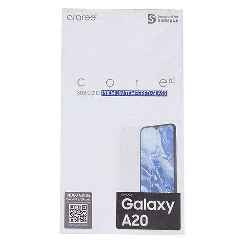 Защитное стекло для экрана SAMSUNG araree by KDLAB для Samsung Galaxy A20, прозрачная, 1 шт [gp-tta205kdatr] GP-TTA205KDATR
