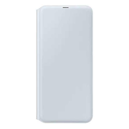 Чехол (флип-кейс) SAMSUNG Wallet Cover, для Samsung Galaxy A70, белый [ef-wa705pwegru] EF-WA705PWEGRU