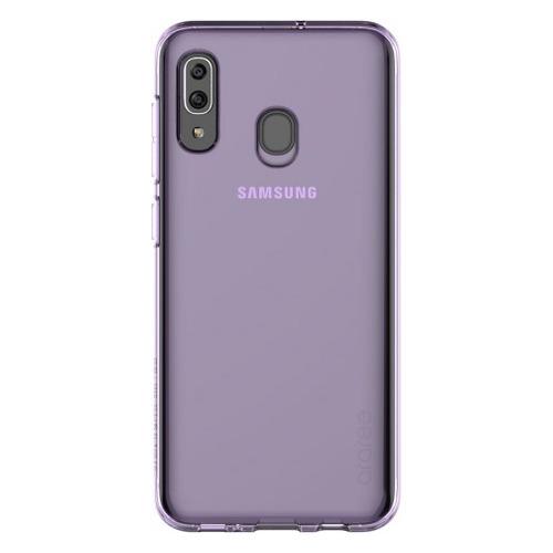 Чехол (клип-кейс) SAMSUNG araree A cover, для Samsung Galaxy A20, фиолетовый [gp-fpa205kdaer] GP-FPA205KDAER