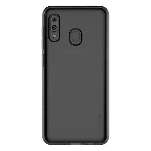 Чехол (клип-кейс) SAMSUNG araree A cover, для Samsung Galaxy A20, черный [gp-fpa205kdabr] GP-FPA205KDABR