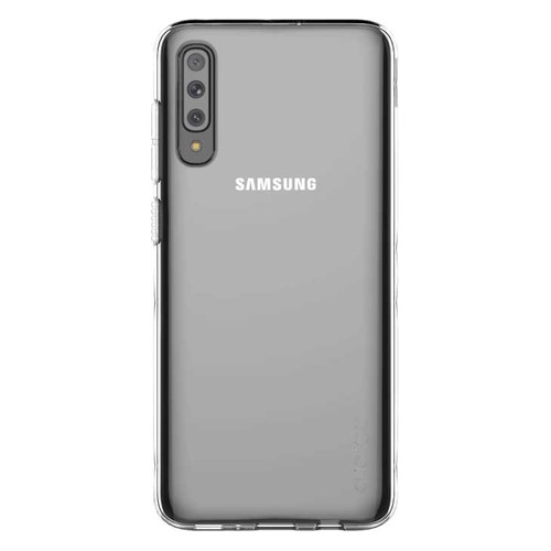 Чехол (клип-кейс) SAMSUNG Araree A Cover, для Samsung Galaxy A70, прозрачный [gp-fpa705kdatr] GP-FPA705KDATR