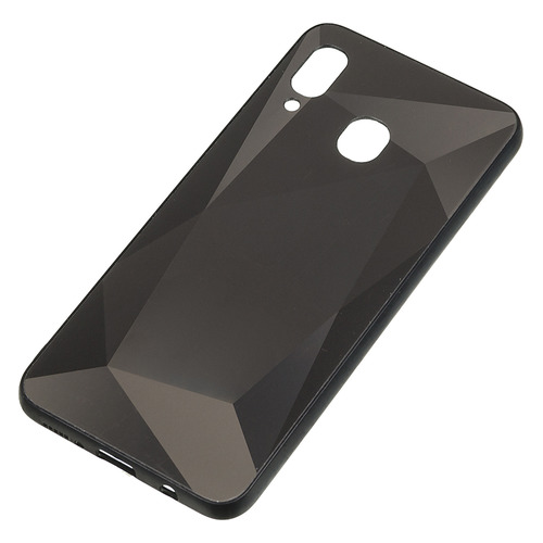 Чехол (клип-кейс) Gresso Даймонд, для Samsung Galaxy A30, черный [gr17dmn013] GR17DMN013
