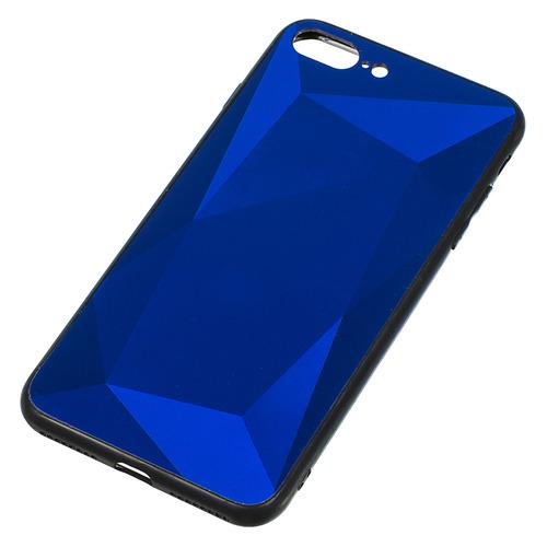 цена на Чехол (клип-кейс) GRESSO Даймонд, для Apple iPhone 7 Plus/8 Plus, синий [gr17dmn027]
