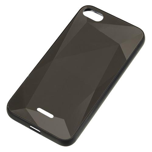 Чехол (клип-кейс) GRESSO Даймонд, для Xiaomi Redmi 6A, черный [gr17dmn032] цена и фото