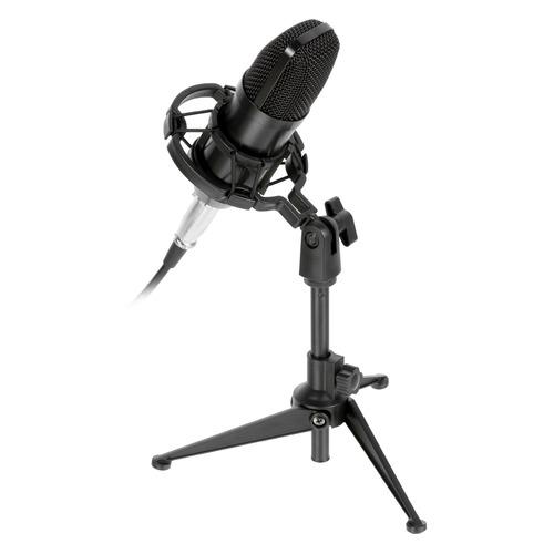 Микрофон RITMIX RDM-160, черный [80000132] микрофон ritmix rdm 127 хром черный [15120026]