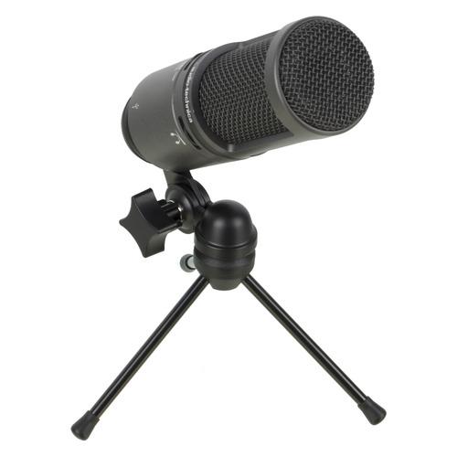 Микрофон AUDIO-TECHNICA AT2020USB+, черный [15117096]