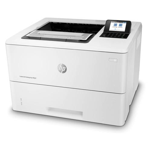 Фото - Принтер лазерный HP LaserJet Enterprise M507dn лазерный, цвет: белый [1pv87a] принтер hp laserjet enterprise m607dn a4 52 стр мин дуплекс 512мб usb ethernet
