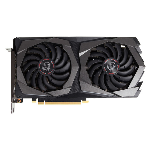 Видеокарта MSI nVidia GeForce GTX 1660 , GTX 1660 GAMING 6G, 6Гб, GDDR5, Ret evga 04g p4 2980 kr nvidia geforce gtx 980 4gb gddr5 dvi hdmi 3displayport pci express video card