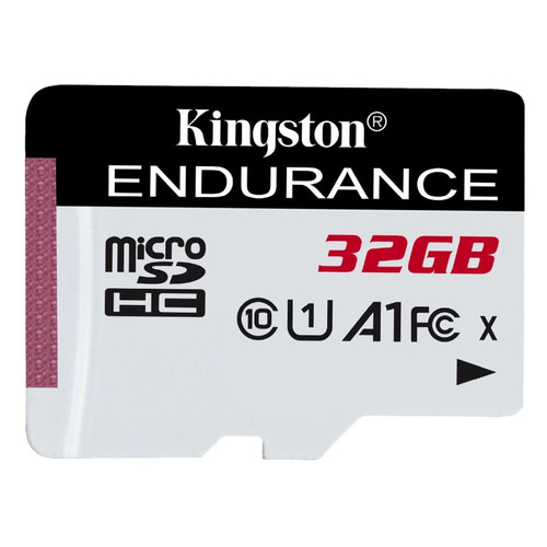 Карта памяти microSDHC UHS-I U1 KINGSTON High Endurance 32 ГБ, 95 МБ/с, Class 10, SDCE/32GB, 1 шт.