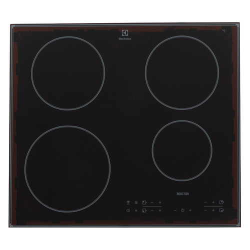 Индукционная варочная панель ELECTROLUX IPEV644RCC, индукционная, независимая, черный цена и фото
