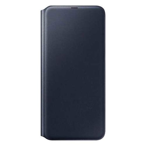 Чехол (флип-кейс) SAMSUNG Wallet Cover, для Samsung Galaxy A70, черный [ef-wa705pbegru]