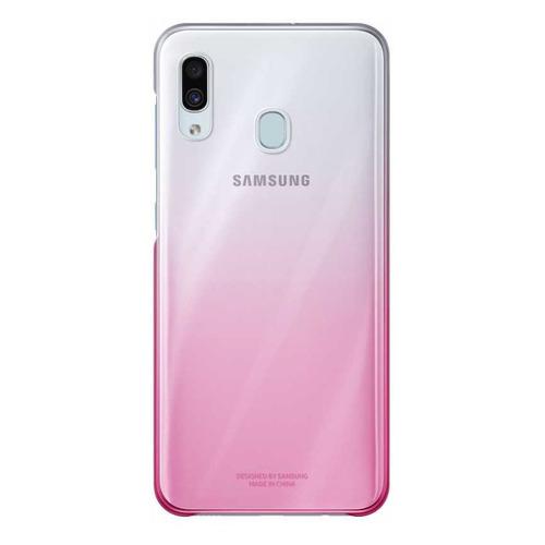 Чехол (клип-кейс) SAMSUNG Gradation Cover, для Samsung Galaxy A30, розовый [ef-aa305cpegru] EF-AA305CPEGRU