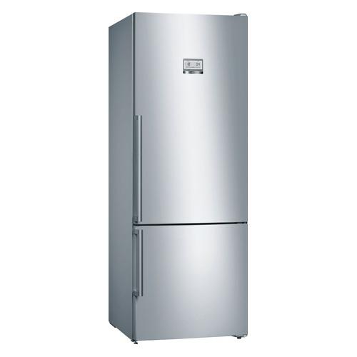 Холодильник BOSCH KGN56HI20R, двухкамерный, нержавеющая сталь холодильник bosch kgv39xl22r двухкамерный нержавеющая сталь