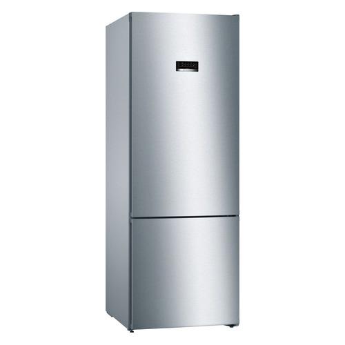 Холодильник BOSCH KGN56VI20R, двухкамерный, нержавеющая сталь холодильник bosch kgv39xl22r двухкамерный нержавеющая сталь