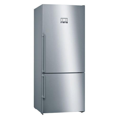Холодильник BOSCH KGN76AI22R, двухкамерный, нержавеющая сталь холодильник bosch kgv39xl22r двухкамерный нержавеющая сталь