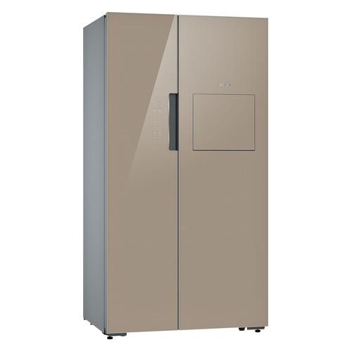 Холодильник BOSCH KAH92LQ25R, двухкамерный, кварцевое стекло