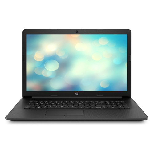 Ноутбук HP 17-by0046ur, 17.3, Intel Celeron N4000 1.1ГГц, 4Гб, 128Гб SSD, Intel UHD Graphics 600, DVD-RW, Free DOS, 4JW85EA, черный ноутбук lenovo ideapad 330 15igm 15 6 intel celeron n4000 1 1ггц 4гб 500гб intel hd graphics 600 free dos 81d1009jru черный