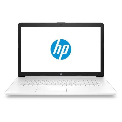 Ноутбук HP 17-by0047ur, 17.3, Intel Celeron N4000 1.1ГГц, 4Гб, 128Гб SSD, Intel UHD Graphics 600, DVD-RW, Free DOS, 4MG14EA, белый ноутбук lenovo ideapad 330 15igm 15 6 intel celeron n4000 1 1ггц 4гб 500гб intel hd graphics 600 free dos 81d1009jru черный