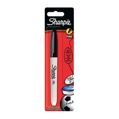 Упаковка перманентных маркеров PAPER MATE Sharpie, черный [1985857] 12 шт./кор. упаковка перманентных маркеров paper mate fine розовый [2025035] 12 шт кор