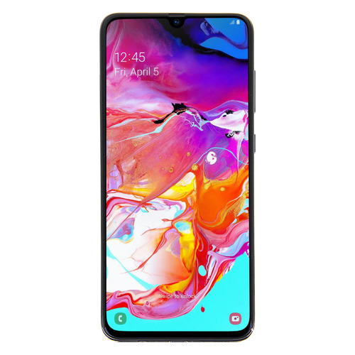 Смартфон SAMSUNG Galaxy A70 128Gb, SM-A705F, черный SM-A705FZKMSER