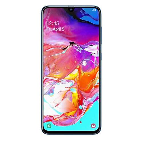 Смартфон SAMSUNG Galaxy A70 128Gb, SM-A705F, синий SM-A705FZBMSER
