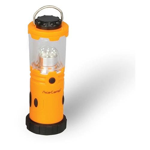 Походный (кемпинговый) фонарь ACECAMP 1014, оранжевый / черный