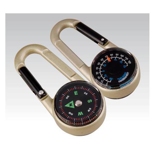 Брелок Munkees 3135 алюминий д.70мм ш.30мм в.20мм (доп.ф.:компас/термометр)