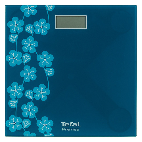 цена на Напольные весы TEFAL PP1079V0, до 150кг, цвет: бирюзовый [2100111006]