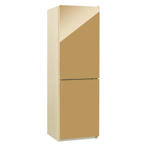 Холодильник NORDFROST NRG 119 542, двухкамерный, золотистый стекло [00000256614] двухкамерный холодильник норд nrg 119 542 золотистое стекло