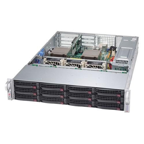 Корпус SuperMicro CSE-826BAC4-R1K23WB 2x1200W черный корпус supermicro cse 846be1c r1k23b 2x1200w черный