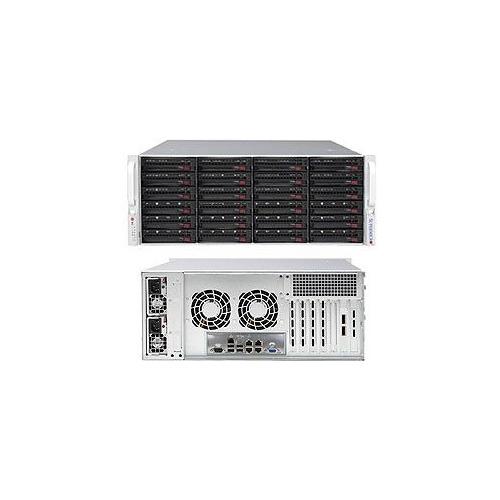 Корпус SuperMicro CSE-846BE1C-R1K23B 2x1200W черный корпус supermicro cse 846be1c r1k23b 2x1200w черный