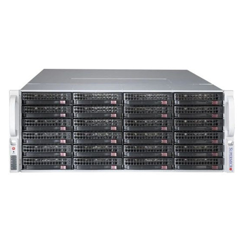 Корпус SuperMicro CSE-847BE1C4-R1K23LPB 2x1200W черный корпус supermicro cse 846be1c r1k23b 2x1200w черный