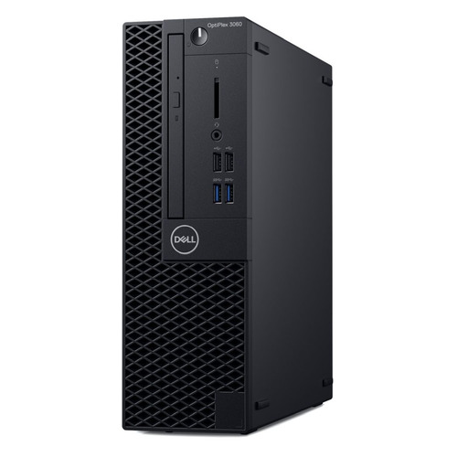 Компьютер DELL Optiplex 3060, Intel Core i5 8500, DDR4 8Гб, 256Гб(SSD), Intel UHD Graphics 630, DVD-RW, Linux Ubuntu, черный [3060-1154]