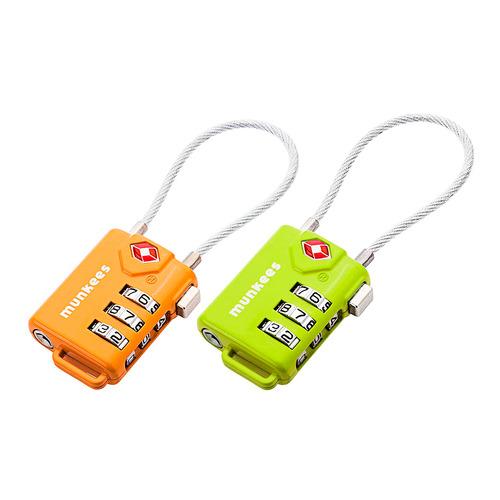 цена на Замок Munkees Cable Combination Lock (3609) д.100мм ш.33мм в.14мм