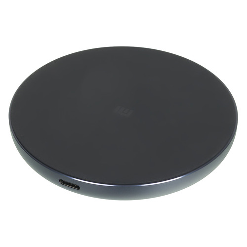 Беспроводное зарядное устройство XIAOMI Mi Wireless Charging Pad, USB, USB type-C, 2A, черный t35 qi wireless charging charger pad for lg e960 google nexus 4 2g nokia lumia 920 white