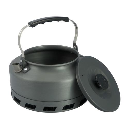 Чайник AceCamp HE Kette (1664) антрацитовый алюминий анодированный 1.6л д.152мм ш.152мм в.152мм
