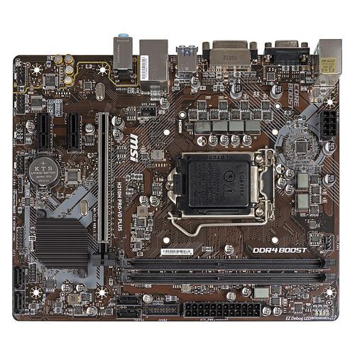 Материнская плата MSI H310M PRO-VD PLUS, LGA 1151v2, Intel H310, mATX, Ret msi b150m pro vd