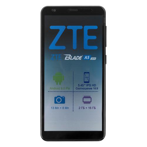 Смартфон ZTE Blade A5 2019 16Gb, черный