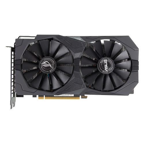 Видеокарта ASUS nVidia GeForce GTX 1650, ROG-STRIX-GTX1650-O4G-GAMING, 4Гб, GDDR5, OC, Ret  - купить со скидкой
