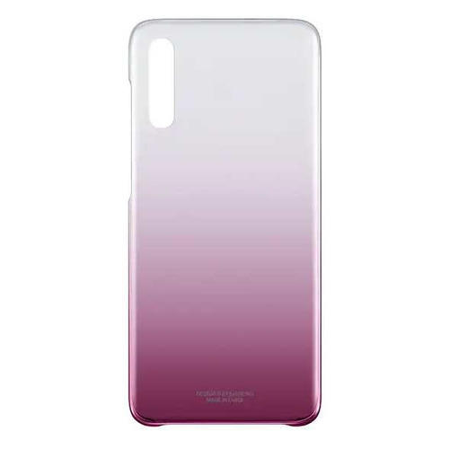 Чехол (клип-кейс) SAMSUNG Gradation Cover, для Samsung Galaxy A70, розовый [ef-aa705cpegru] EF-AA705CPEGRU