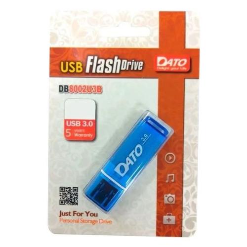 Фото - Флешка USB DATO DB8002U3 128ГБ, USB3.0, синий [db8002u3b-128g] usb flash drive 64gb dato db8002u3 usb 3 0 blue db8002u3b 64g
