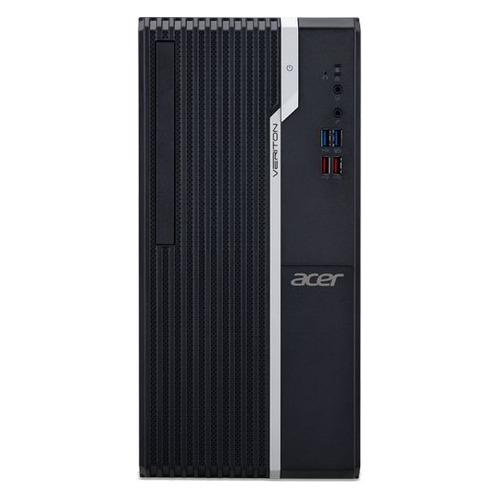 Компьютер ACER Veriton S2660G, Intel Core i3 8100, DDR4 4Гб, 128Гб(SSD), Intel UHD Graphics 630, Windows 10 Professional, черный [dt.vqxer.039] компьютер lenovo thinkcentre tiny m720q intel core i3 8100t ddr4 4гб 128гб ssd intel uhd graphics 630 windows 10 professional черный [10t70015ru]